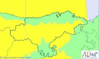 Cantabria estará este viernes en riesgo por viento y fenómenos costeros