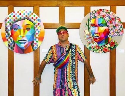 'Okuda' vuelve a Miami para participar en Scope y presentar elrow'art en la Semana del Arte