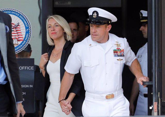 El SEAL de la Armada de Estados Unidos, Edward Gallagher.