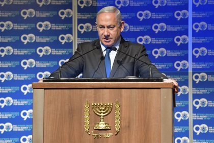 """Israel.- Netanyahu tilda de """"intento de golpe"""" los cargos por corrupción presentados contra él en Israel"""