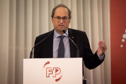 """Torra dice que Catalunya se juega su futuro y el de su economía en el """"enorme"""" reto de la FP"""