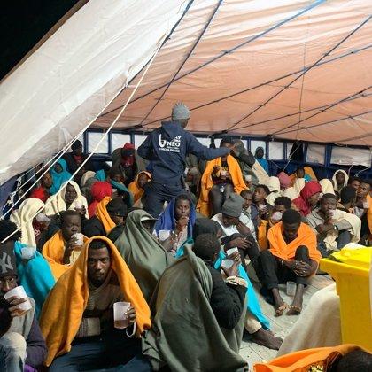 Europa.- El buque de rescate 'Aita Mari' auxilia a 78 personas en el Mediterráneo