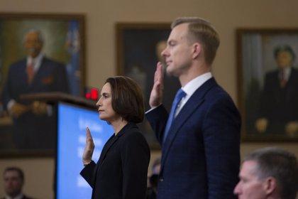 """EEUU.- Fiona Hill acusa a los republicanos de difundir una """"narrativa ficticia"""" sobre Ucrania dañina para EEUU"""