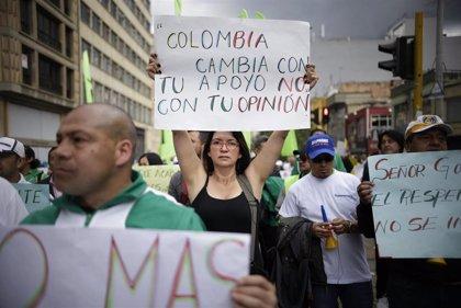 Colombia.- El Comité Nacional de Paro de Colombia solicita reunirse con Duque tras la jornada de protestas