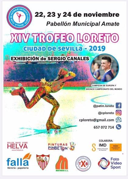 Más de 135 patinadores andaluces participan desde este viernes en el XIV Trofeo Loreto ciudad de Sevilla