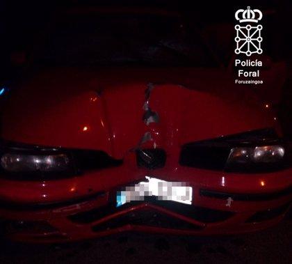 Investigado un conductor que se dio a la fuga tras sufrir un accidente y superó la tasa de alcohol