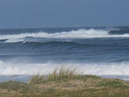 El viento supera los 133 km/h en Viveiro (Lugo)