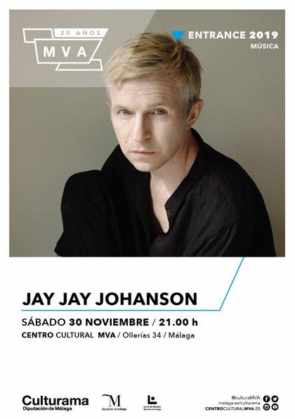 El crooner sueco Jay Jay Johanson presentará su nuevo álbum 'Kings Cross' en el MVA