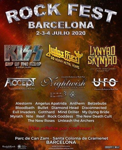 Nightwish se apuntan al Rock Fest Barcelona 2020