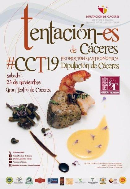 Corderex forma parte la gala Tentación-es de Cáceres para promocionar la cultura y gastronomía local