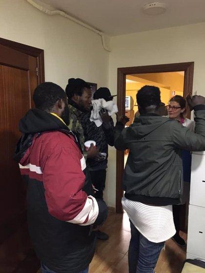 El mal tiempo lleva a abrir los albergues para temporeros de la aceituna en Porcuna y Villanueva del Arzobispo