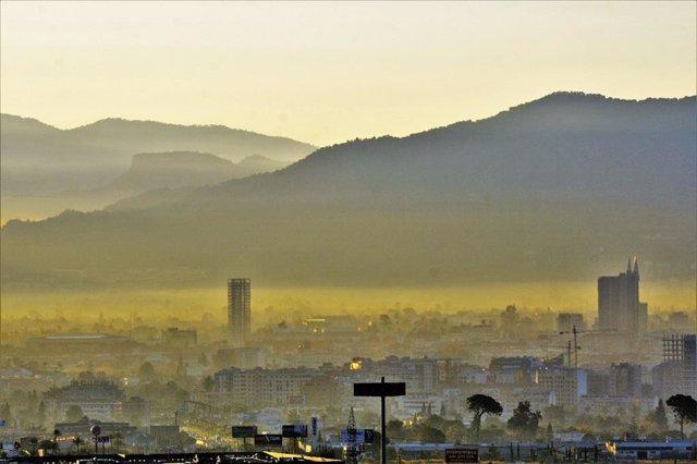 Contaminación Murcia