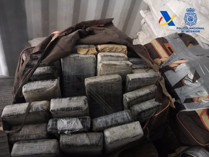 Incautados en el Puerto de València 426 kilos de cocaína en un contenedor de fibra de coco procedente de Costa Rica