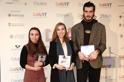 Estudiantes de Bellas Artes españoles reflejan la dermatitis atópica a través del arte para concienciar y visibilizar