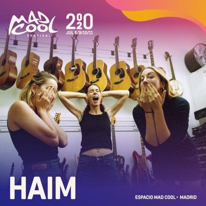 Haim, Khalid y The Rapture, nuevas confirmaciones del Mad Cool 2020