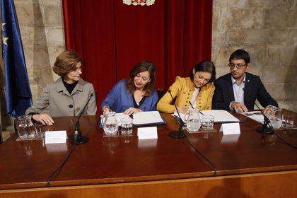 """Baleares y el Estado firman el convenio de 8 millones por la quiebra de Thomas Cook, """"un compromiso de continuidad"""""""