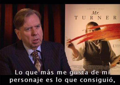 Este viernes, proyección de 'Mr. Turner' en el XVII Curso de Cine y Literatura en Inglés de la UR