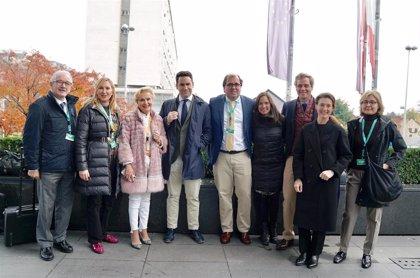 Quintanilla (PP) participa en el Congreso del Partido Popular Europeo celebrado en Zagreb