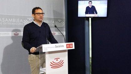 """El PSOE achaca las críticas de la oposición a PGEx a una """"cortina de humo"""" para """"no hablar de unos buenos presupuestos"""""""