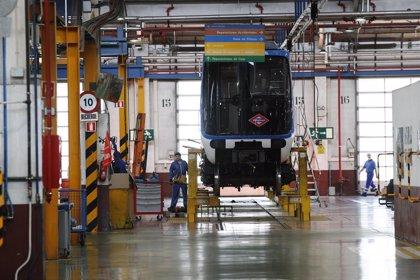 Metro de Madrid localiza una nueva pieza con amianto en depósitos de aire de varios modelos de trenes