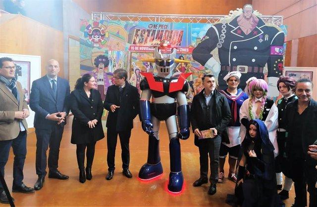 La consejera de Educación y Cultura, Esperanza Moreno, visita el XI Salón del Manga de Murcia