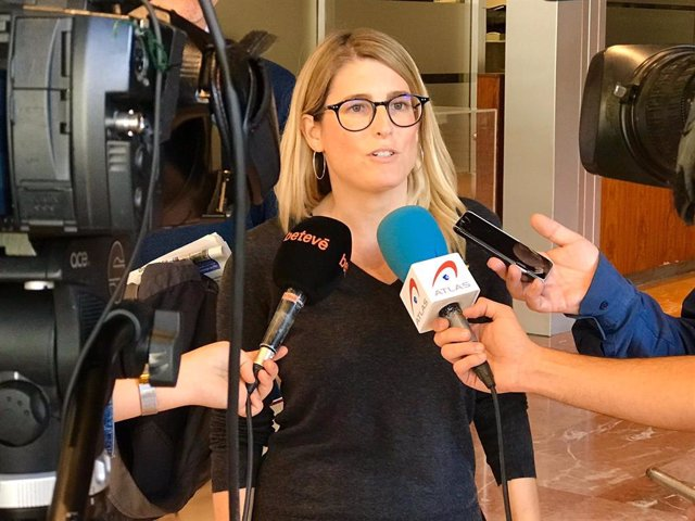 La portaveu de JxCat a Barcelona, Elsa Artadi.