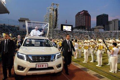 """Papa Francisco.- El Papa advierte a los jóvenes ante """"propuestas bien maquilladas"""" que acaban en """"cansancio, soledad y desgana"""""""