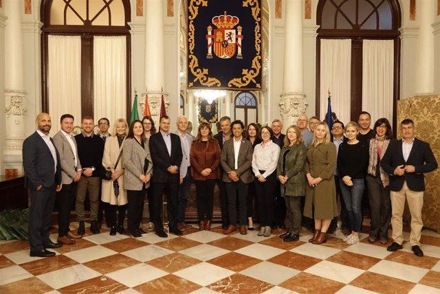 L Ayuntamiento de Málaga recibe a una delegación de Canadá que está visitando la ciudad para conocer de primera mano los avances de Málaga como 'Smart City'