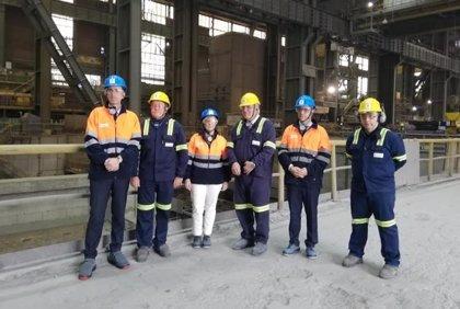 Sidenor invierte siete millones en diversificar su producción y orientar su actividad a las renovables o el ferrocarril