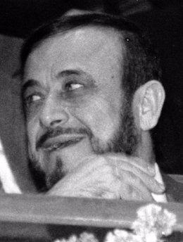 El exvicepresidente de Siria Rifaat al Asad, tío del actual presidente Bashar al Asad, en una imagen de archivo