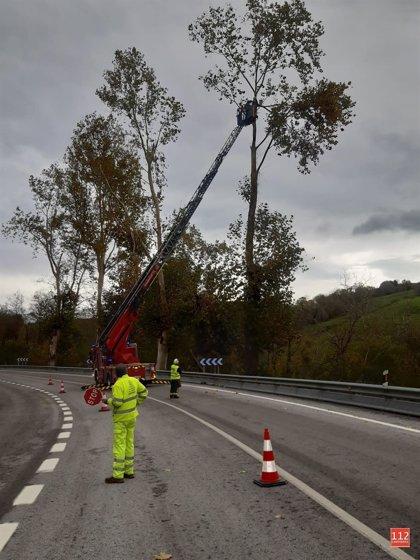 El viento alcanza en Soba los 146 km/h, la racha más fuerte del país