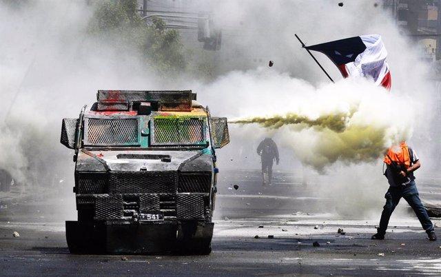 Protestes a Xile