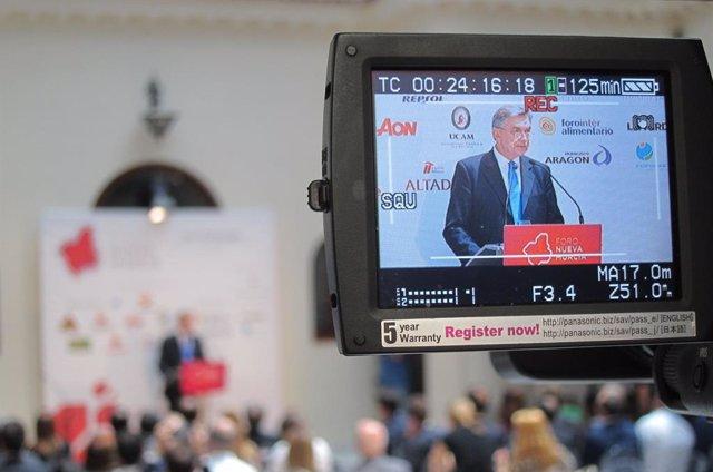 L'ambaixador de la Federació de Rússia a Espanya, Yuri Korchagin, al Frum Nova Murcia