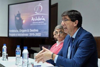 """Marín presenta en Sabrosa el proyecto 'Origen y Destino' para """"estrechar lazos"""" y acercar Andalucía a Portugal"""