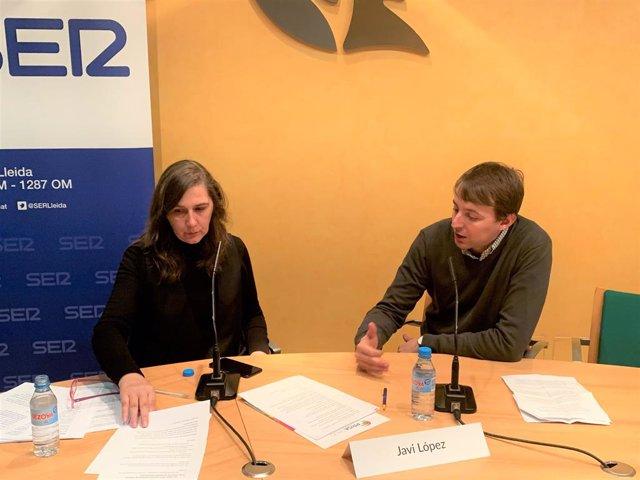 El diputat S&D al Parlament Europeu Javi López (PSC) en el II Frum Agrolimentari organitzat per Ser Catalunya-Rdio Lleida el 22 de novembre del 2019