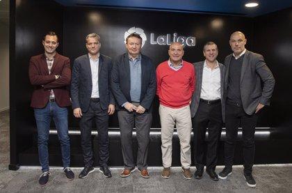 La MLS visita la sede de LaLiga para profundizar en el fútbol profesional español