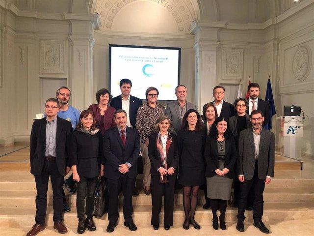 Foto clausura VI Jornada de RedETS