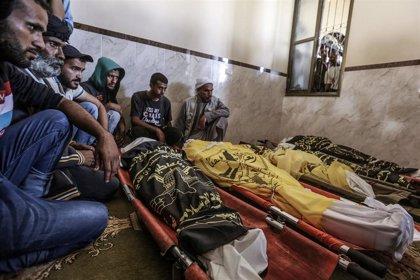 Muere un noveno miembro de una familia palestina alcanzada por un bombardeo de Israel en Gaza
