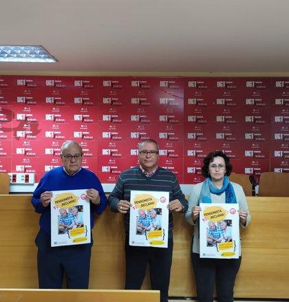 UGT Sevilla presenta una campaña orientada a pensionistas afectados por un coeficiente anulado por el TC