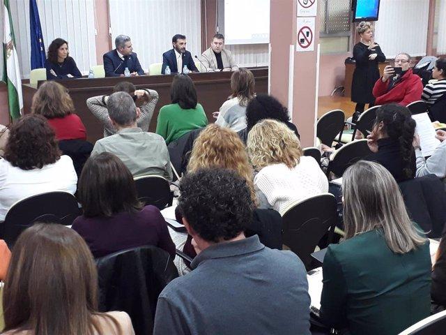Presentación en el CEP de Jaén