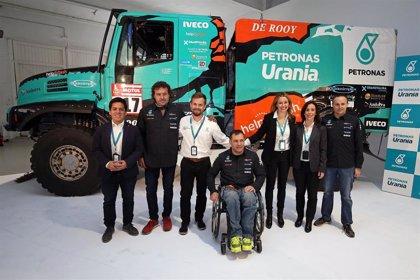 Albert Llovera regresa al Dakar en la categoría de camiones con el Team PETRONAS De Rooy IVECO