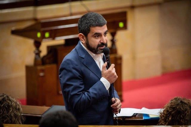 El conseller de Treball, Assumptes Socials i Família, Chakir el Homrani (arxiu).