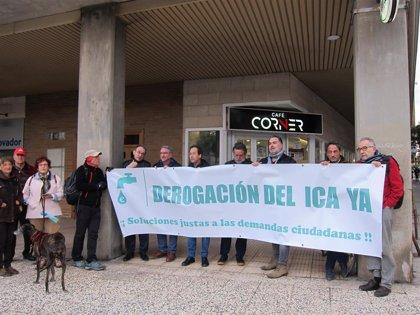 La RAPA convoca una nueva concentración en contra del ICA en Torrero