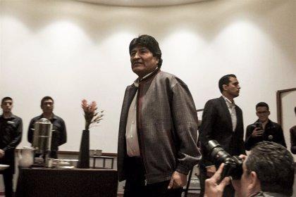 La Fiscalía de Bolivia inicia las gestiones para interrogar a Morales en México