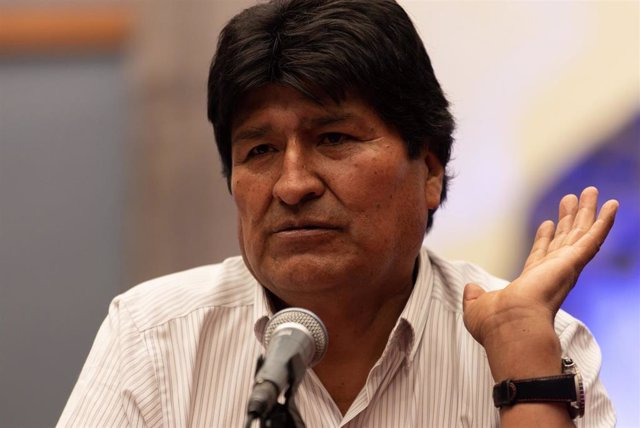 El expresidente de Bolivia Evo Morales