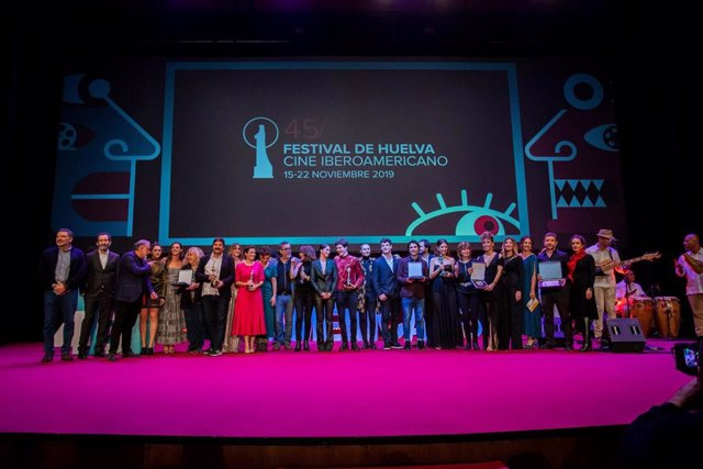 Gala de clausura del Festival de Huelva de Cine Iberoamericano.