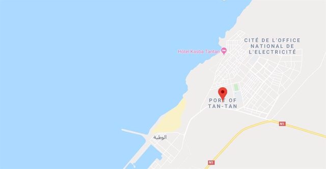 Puerto de Tan Tan en Marruecos