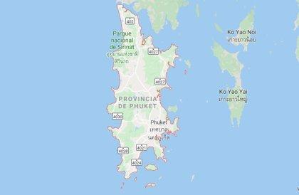 Un hombre de nacionalidad alemana muere en la región tailandesa de Phuket tras ser herido por la hélice de una lancha