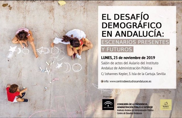 Una jornada aborda este lunes en Sevilla los principales retos demográficos de Andalucía