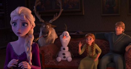 Así es la escena poscréditos de Frozen 2